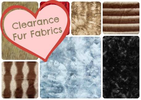 Clearance Fur Fabrics
