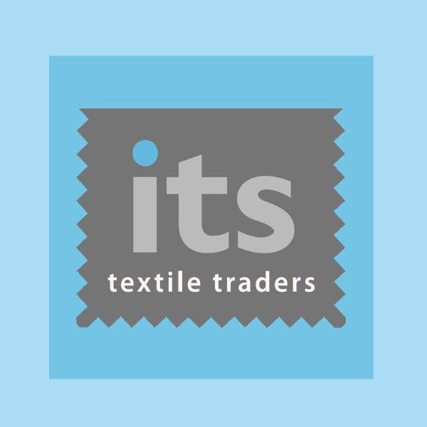 Sprig Print Cotton Poplin Fabric Blue / Yellow 144cm