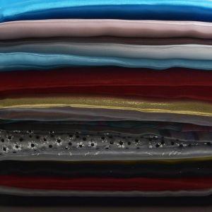 Print Plain Organdy Fabric Remnant Pack Assorted 150cm - £11.00 per kilo