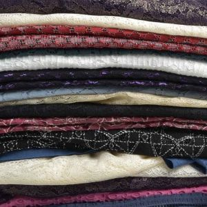 Lace Knit Mixed Fabric Remnant Pack Assorted 135cm - £4.95 per kilo