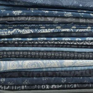 Print Chambray Remnant Pack Assorted 150cm