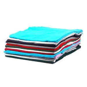 Plain Sweatshirt Fleece Fabric Remnant Pack Assorted 150cm - £4.75 per kilo