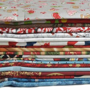 Christmas Craft Cotton Remnant Pack Assorted 112cm