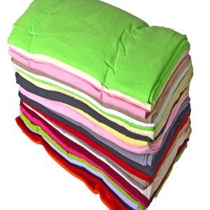 Plain Cotton Flannelette Fabric Remnant Pack Multi 112cm - £6.95 per kilo