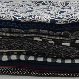 Print Jacquard Knit Fabric Remnant Pack Assorted 150cm - £4.95 per kilo