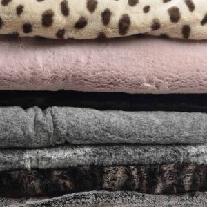 Two Tone Supersoft Fabric Remnant Pack Assorted 150cm - £5.50 per kilo