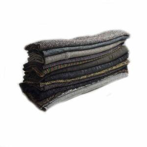 Metallic Party Mix Fabric Remnant Pack Assorted 148cm - £5.25 per kilo
