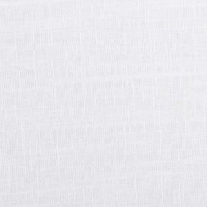 Washed Linen Slub Fabric   18 White 137cm