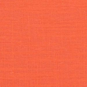 Washed Linen Slub Fabric   7 Orange 137cm