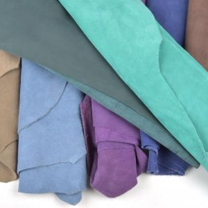 Suede Hides Remnant Pack Assorted 10 Pieces - £13.44 per metre