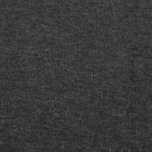 Plain Spandex Rib Jersey Fabric 2 Charcoal 150cm