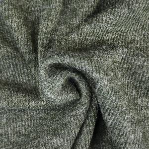 Plain Spandex Rib Jersey Fabric 3 Olive 150cm - £3.95 per metre