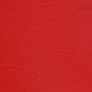 Micro Velveteen Fabric Red 118cm