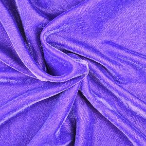 Micro Velveteen Fabric Purple 118cm - £3.35 per metre