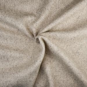 Plain Wool Blended Melton Fabric 7 Fawn 145cm - £2.99 per metre