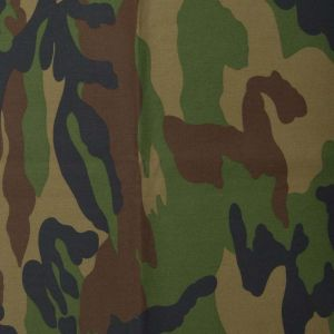 Premium Camouflage Print Fabric Green/fawn 150cm