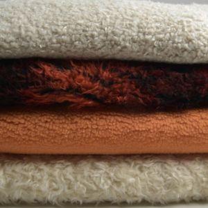 Teddy Fur Fabric Remnant Pack Assorted 150cm - £4.95 per kilo