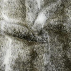 Hi Pile Faux Fur Fabric Wolf Brown 150cm - £6.95 per metre