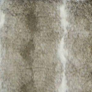 Hi Pile Faux Fur Fabric Wolf Brown 150cm