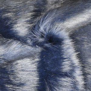 Hi Pile Faux Fur Fabric Midnight 150cm - £6.95 per metre