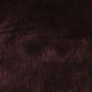 Hi Pile Faux Fur Fabric Plum 150cm
