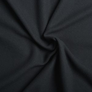 Plain Micro Fleece Fabric 4 Black 150cm