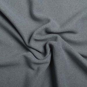 Plain Micro Fleece Fabric F Grey 150cm