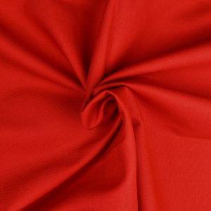 Plain Cotton Twill Fabric 4 Red 145cm - £2.75 per metre