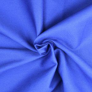 Plain Cotton Twill Fabric 10 Royal 145cm - £2.75 per metre