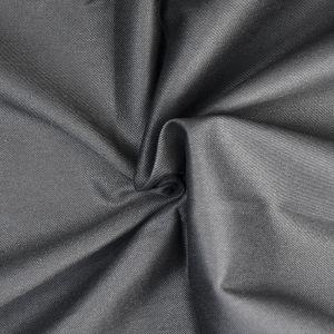Plain Cotton Twill Fabric 3 Black 145cm - £2.75 per metre