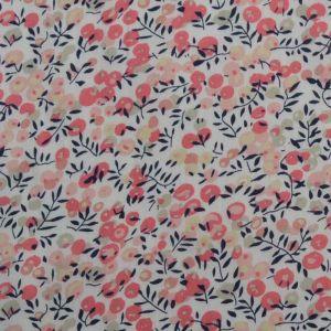 Berries Print Cotton Poplin Fabric - 1 Pink 145cm