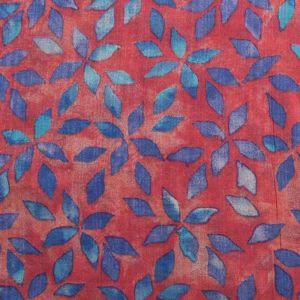 Petals Vintage Print Cotton Fabric - 7219-4 Pink 145cm