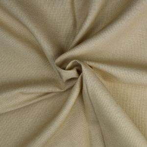 Plain Cotton Linen Fabric  7 Oatmeal 135cm - £2.99 per metre