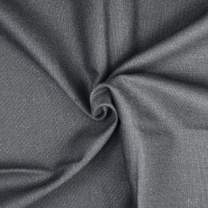 Plain Cotton Linen Fabric  30 Black 135cm - £2.99 per metre