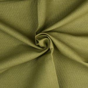 Plain Cotton Linen Fabric  16 Olive 135cm - £2.99 per metre