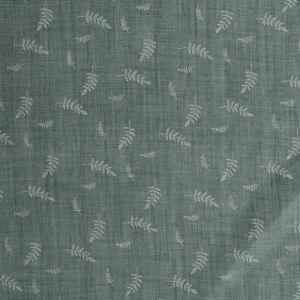 Embossed Fern Cotton Blend Fabric - TC973 - 9 Sage Green 145cm