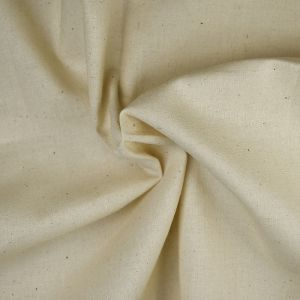 Abakhan Washed Finish Calico Fabric Natural 150cm - £1.40 per metre
