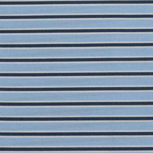 Stripe Print Cotton Lawn Fabric  3 Blue Navy 150cm