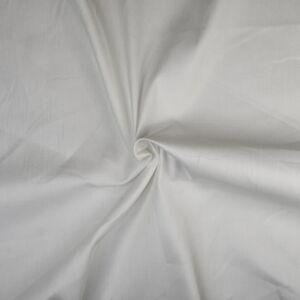 Plain Lightweight Cotton Spandex Twill Fabric 3 Off White 135cm - £1.55 per metre