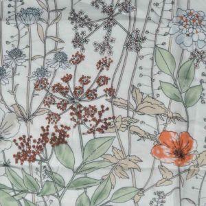Floral Garden Print Javanaise Viscose Fabric 13 Multi 150cm