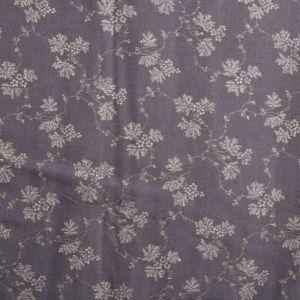 Gypsophila Print Javanaise Viscose Fabric  24 Slate 150cm