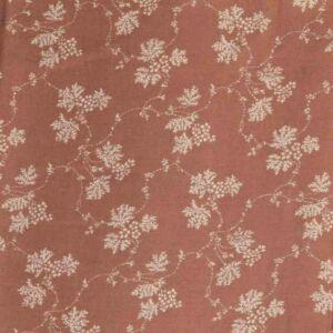 Gypsophila Print Javanaise Viscose Fabric  31 Brown 150cm