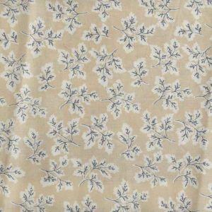 Sprig Print Javanaise Viscose Fabric 56 Latte 150cm