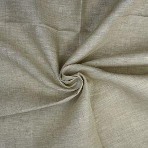 Plain 14s Linen Fabric 53 Natural 138cm - £6.50 per metre