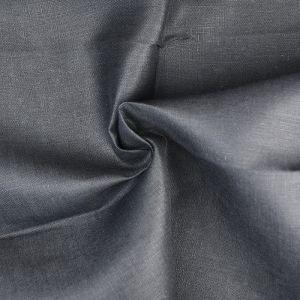 Plain 14s Linen Fabric 52 Black 138cm - £6.50 per metre