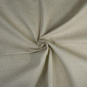Plain Cotton Linen Fabric  5A Natural 135cm - £2.99 per metre