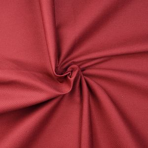 Plain Cotton Twill Fabric 115 Wine  145cm - £2.75 per metre