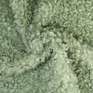 Lamb Luxe Fur Fabric 5 Mint 160cm