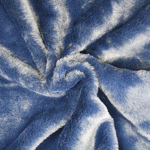 Bunny Luxe Fur Fabric 37 Navy 160cm - £5.50 per metre