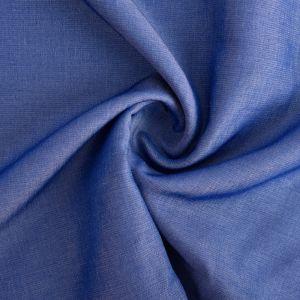 Viscose Chambray Fabric 6 Mid Blue 147cm - £2.75 per metre
